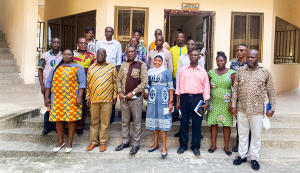 CHIEF EXECUTIVE OFFICER OF ENVIRONMENTAL PROTECTION AGENCY PAYS A WORKING VISIT TO EKMA
