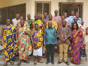 CHIEFS WITHIN EKMA PAYS OFFICIAL VISIT TO THE MUNICIPAL CHIEF EXECUTIVE